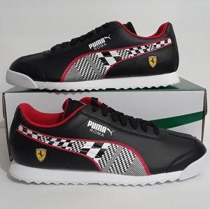 Puma x Ferrari Men's Shoes Checkered Flag